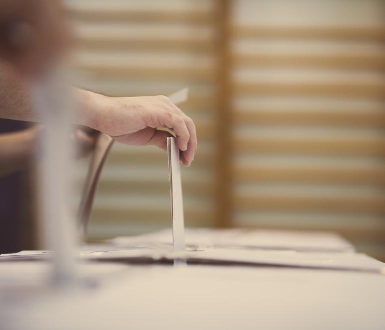 Carte des districts électoraux
