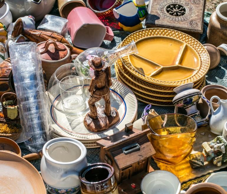 Reprise des ventes-débarras et du service en ligne « Don de biens réutilisables »